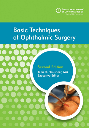 Cover of Basic Techiques of Ophthalmic Surgery